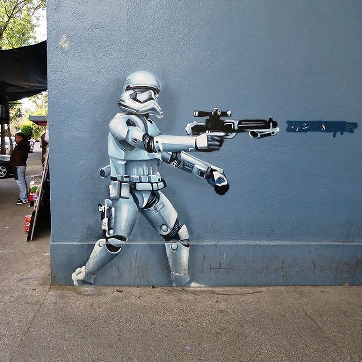 Stormtrooper in Mexico City, Mexico.