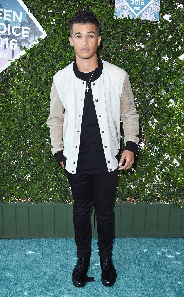 """Jordan Fisher from Teen Choice Awards 2016 Red Carpet Arrivals  The """"All About Us"""" singer arrives to The Forum in style."""