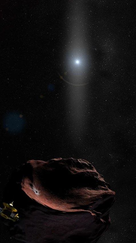 New Horizons Deploys Global Team for Rare Look at Next Flyby Target | NASA | May 26, 2017: On New Year's Day 2019, more than 4 billion miles from home, NASA's New Horizons spacecraft will race past a small Kuiper Belt object known as 2014 MU69—making this rocky remnant of planetary formation the farthest object ever encountered by any spacecraft.