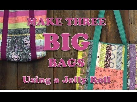 Check Out This Cool Video Three Big Bags Made With Jelly