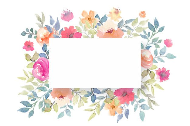 Download Floral Blank Card Template For Free Blank Card Template Card Templates Printable Gift Card Template