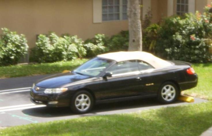 2003 Toyota Solara convertible