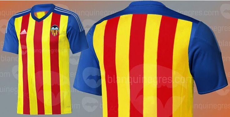 Nuevas camisetas de futbol 2014 2015 2016: Nueva camiseta del Valencia 2015 2016???