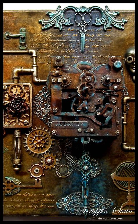1000 ideas about steampunk crafts on pinterest leather for Steampunk arts and crafts
