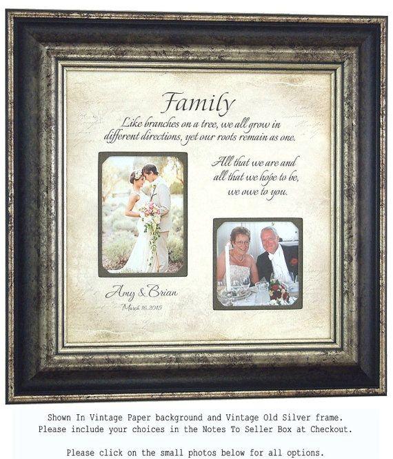 Wedding Frame Family Established Name Sign By PhotoFrameOriginals