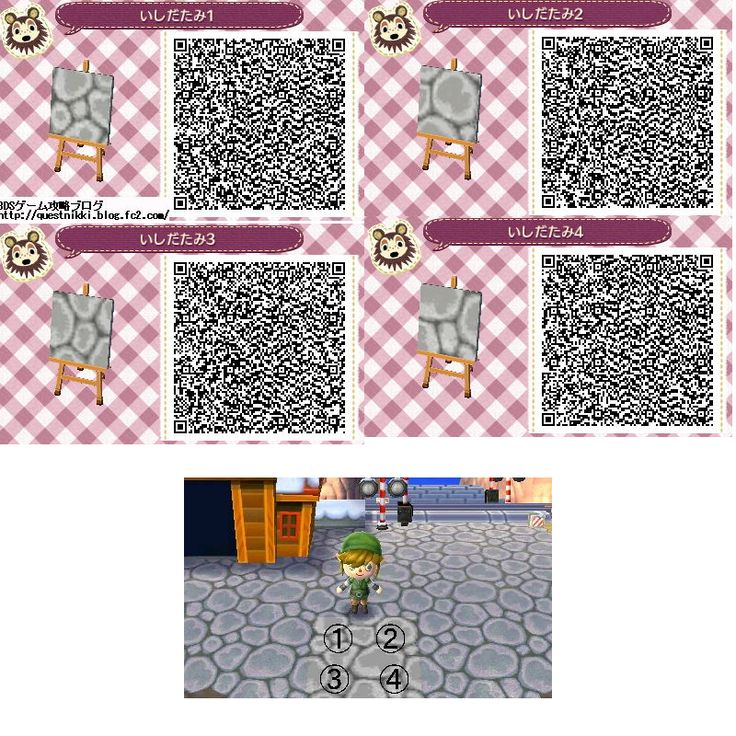 Boden qr codes animal crossing new leaf