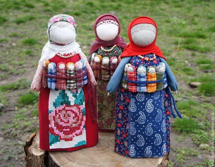 """Кукла """"Московка"""" (Плодородие, СемьЯ) - разноцветный,московка,народная кукла"""