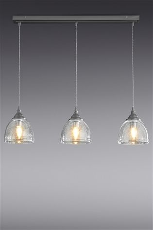 Buy Bergen 3 Light Linear Pendant from the Next UK online shop