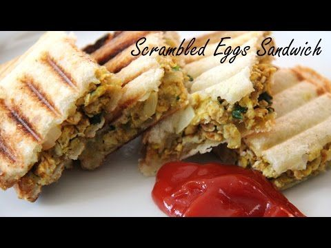 Scrambled Egg Sandwich recipe | Egg Sandwich recipe | Sandwich Recipe - Foods And Flavors By Shilpi