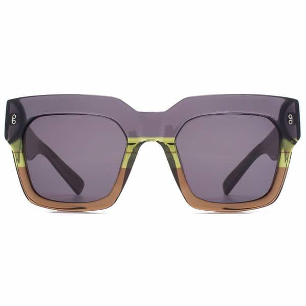 Genesis Dark Grey   Hook LDN   Wolf & Badger  /  Women / Accessories / Sunglasses