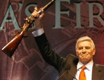 """charlton heston: """"only from my cold dead hands"""""""