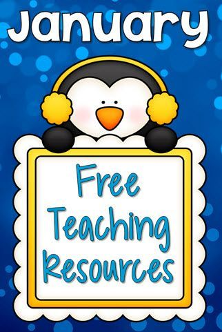 January Teaching Resources and freebies from Laura Candler's online file cabinet
