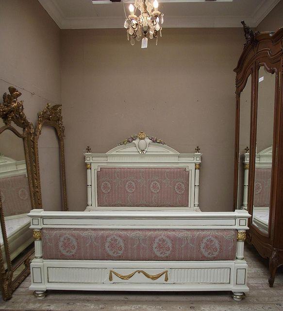 Fantastic Antique French Kingsize Bed Restored Before U0026 After By  Frenchfinds.co.uk,