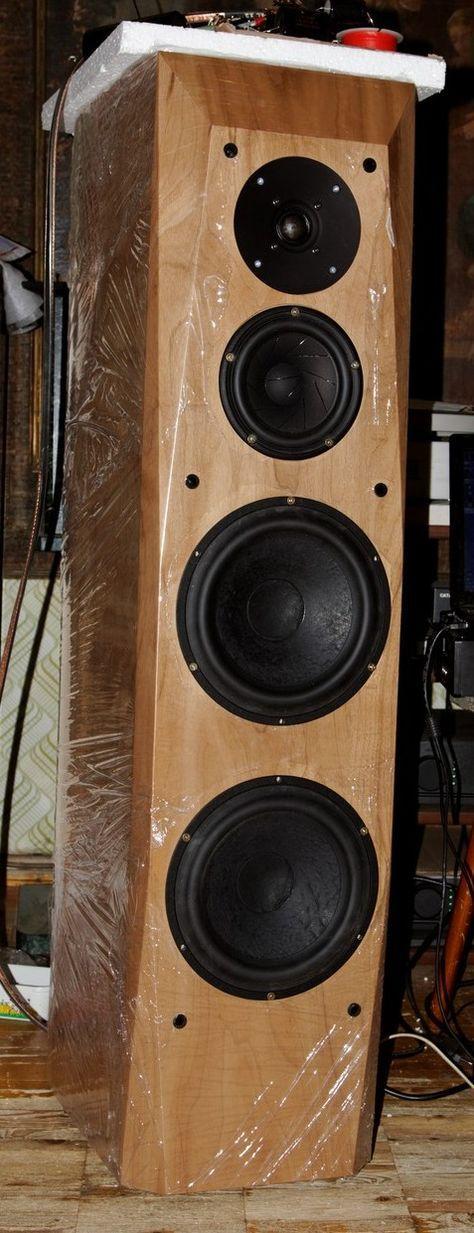 Tree Way Scan-Speak Big Tower Loudspeaker