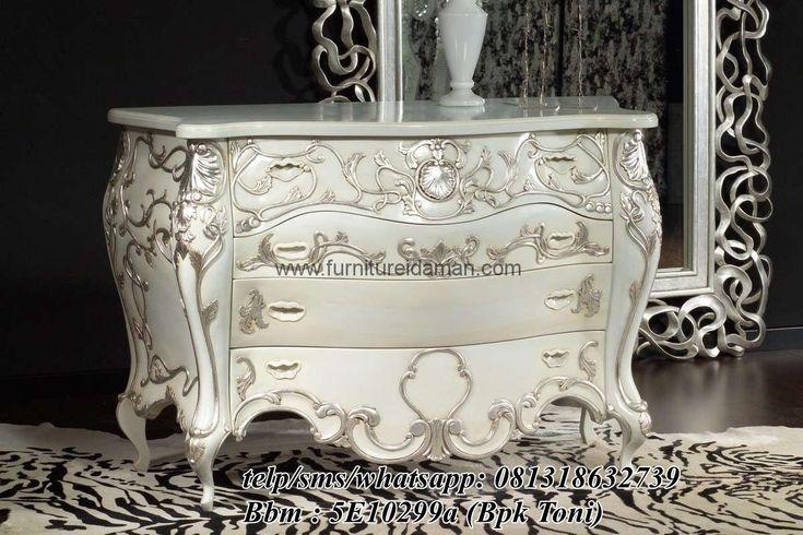 Jual Nakas Mewah Ukiran Racoco-berikut kami tawarkan salah satu produk nakas terbaru furniture idaman dengan desain yang modern minimalis order 081318632739