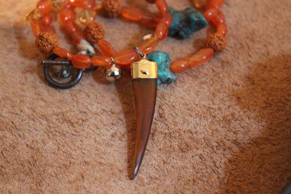 Xmas Sale Kali Necklace by ElayaMagic on Etsy
