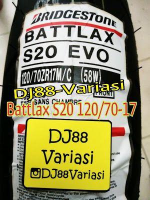 Ban battlax s20 120/70-17 depan ban tubless ban ninja 250 r15 cbr 250rr cbr 150 er6 z250 r25 mt25 gsx 150 vixion byson