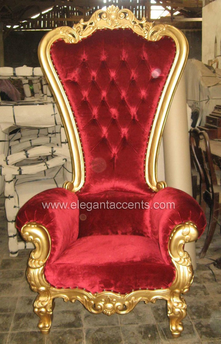 341 best chair 10 images on pinterest for Throne chair plans