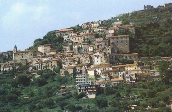 Roccagloriosa - Torre Orsaia