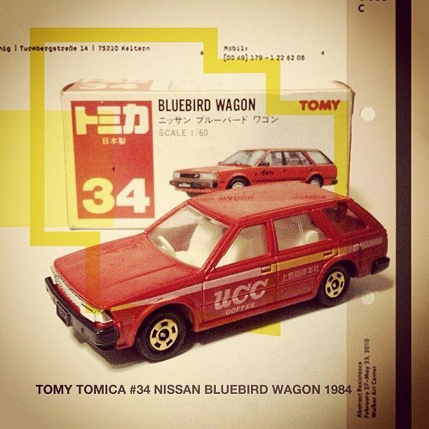 TOMY #TOMICA #34 Nissan Bluebird Wagon 1984