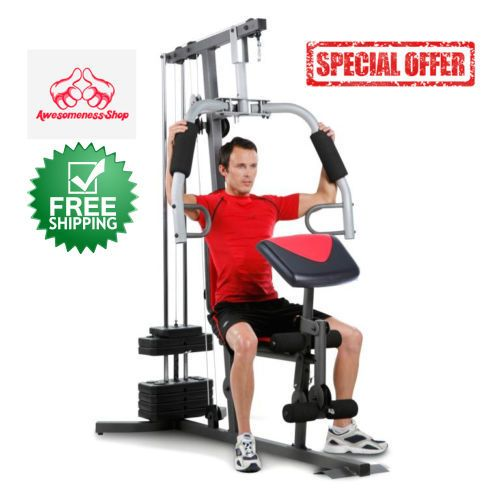 HOME GYM MACHINE Workout Equipment Exercise Weight Strength Fitness Training…