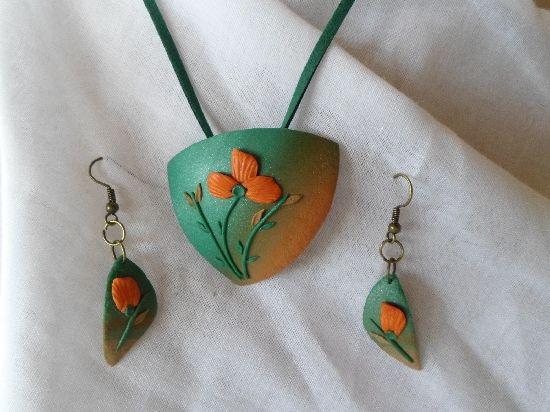 Flori -set bijuterii