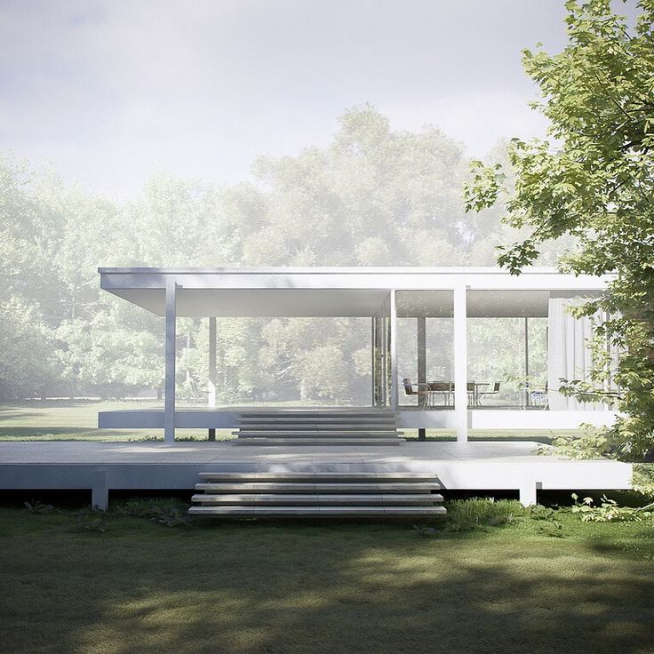 top 25 best farnsworth house ideas on pinterest ludwig mies van der rohe modern architecture. Black Bedroom Furniture Sets. Home Design Ideas