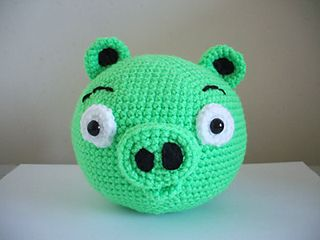 Angry Birds - Pig free crochet pattern by Adorable Amigurumi