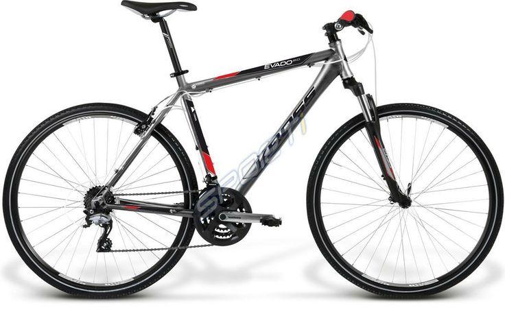 Sporti.pl - Rower Kross EVADO 2,0 grafit-czarno-czerwony 2014