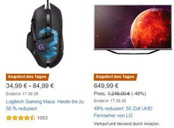 """Amazon: Acht Logitech-Mäuse für einen Tag mit Rabatt https://www.discountfan.de/artikel/technik_und_haushalt/amazon-acht-logitech-maeuse-fuer-einen-tag-mit-rabatt.php Amazon: Acht Logitech-Mäuse für einen Tag mit Rabatt (Bild: Amazon.de) Die Computermäuse von Logitech mit Rabatt sind nur am heutigen Freitag im Angebot, solange Vorrat reicht. Am günstigsten ist das Modell """"G602 Wireless"""", das für 34,99 Euro zu haben ist. Andere Onlineshops verl... #Comput"""