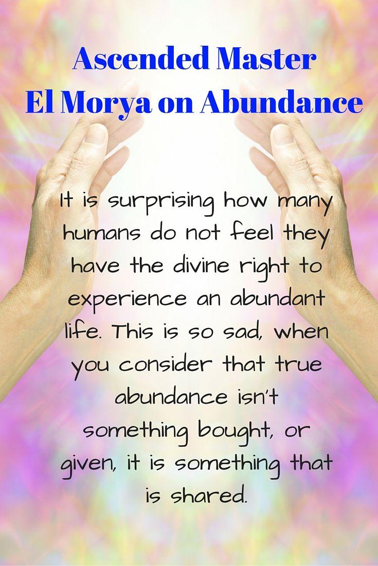 Ascended Master El Morya Abundance Guidance through Angel Messenger Jill Harrison