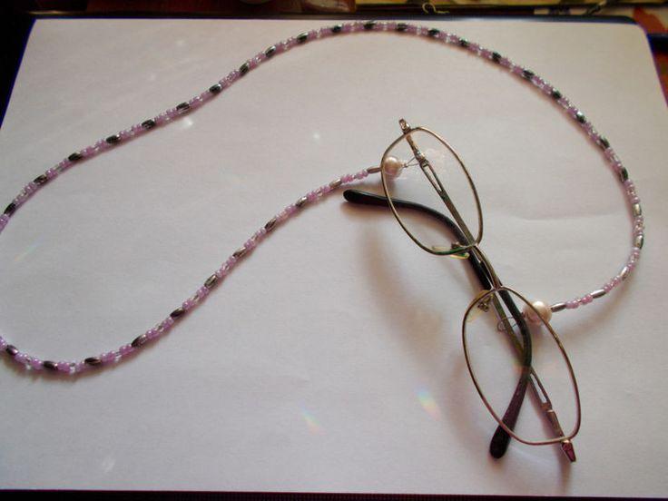 snur din margele pentru ochelari - COLIERE