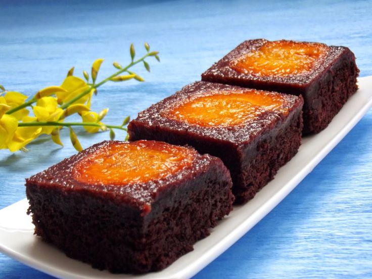 Negresa cu caise / Apricot Brownies | Cofetar De Ocazie