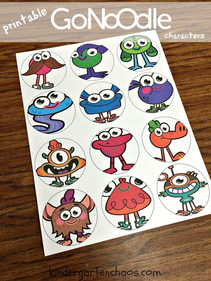 GoNoodle Ideas for the Classroom - Kindergarten Chaos