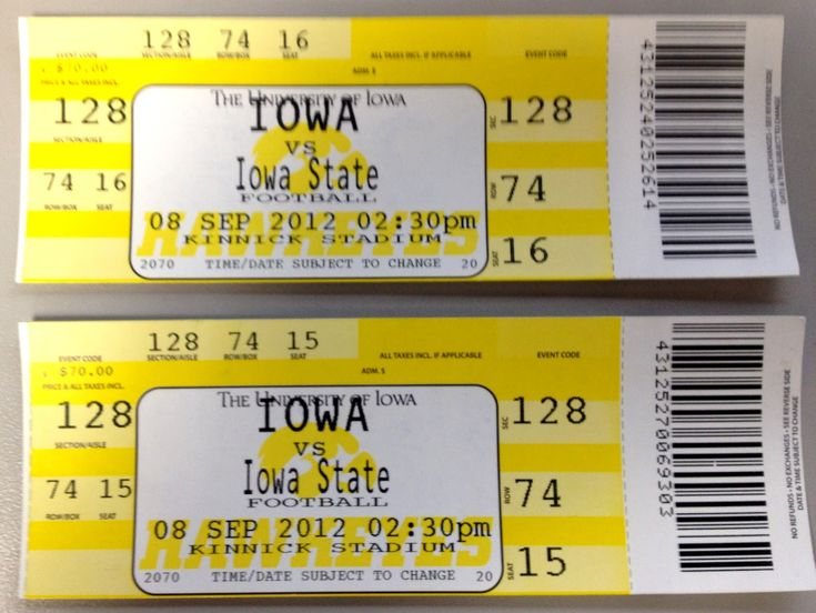 Iowa Hawkeye Football Schedule | Iowa Football Rivalries.