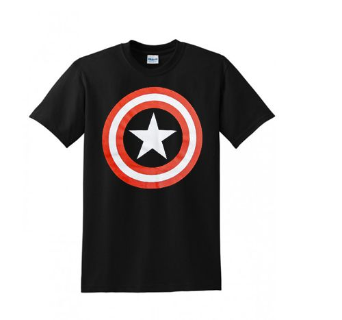 Capt. America Shield T Shirt