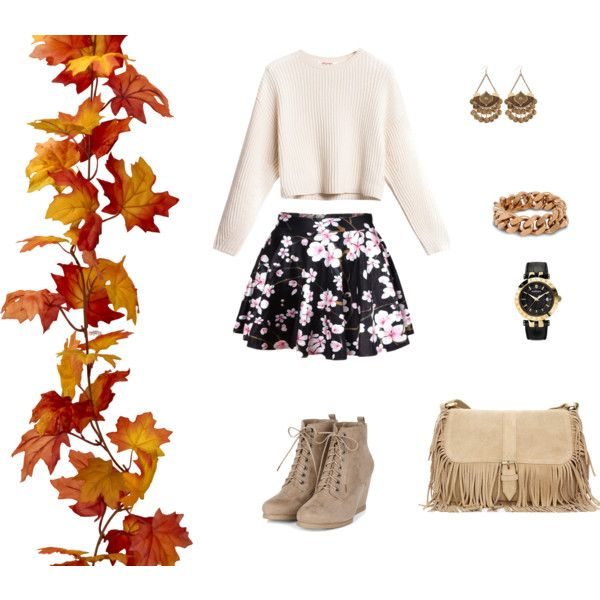 Autumn love by konaki on Polyvore featuring STELLA McCARTNEY and Versace