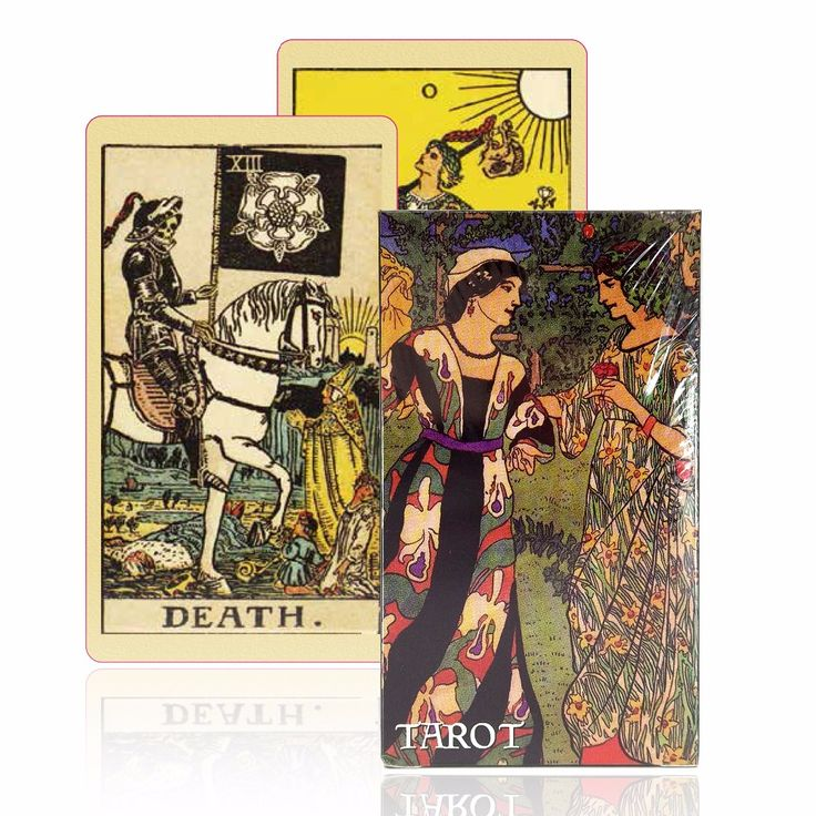 Versi bahasa inggris smith-kartu tarot waite tarot deck warna kuno centennial permainan papan permainan