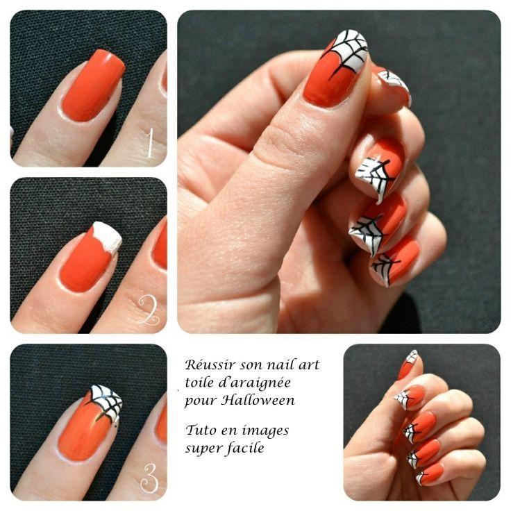Nail art Halloween facile –idées pour plonger ses ongles dans l'ambiance
