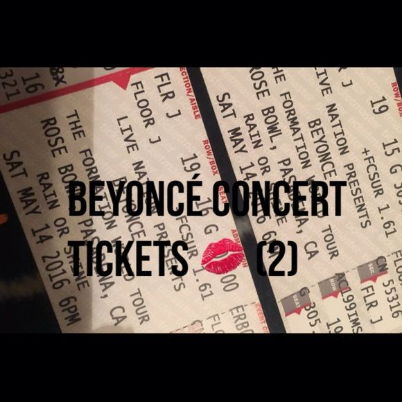 Beyoncé concert tickets for sale Beyoncé tickets in the LA area Beyonce  Other