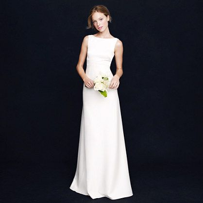 J Crew very basic and pretty - extra 40% off online for a while, about $300, could dress up with lace etc?