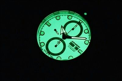 Aragon Virtuoso Super Luminova dial lume