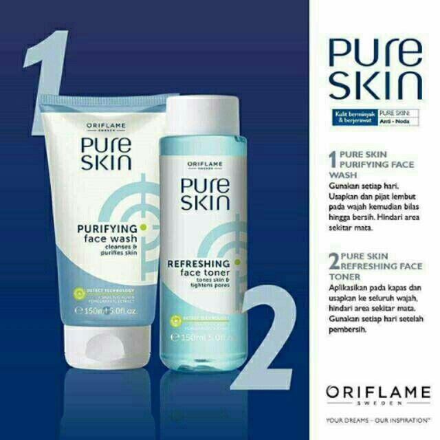 Saya menjual PURE SKIN ORIFLAME seharga Rp150.000. Dapatkan produk ini hanya di Shopee! https://shopee.co.id/fitrican/224879159 #ShopeeID