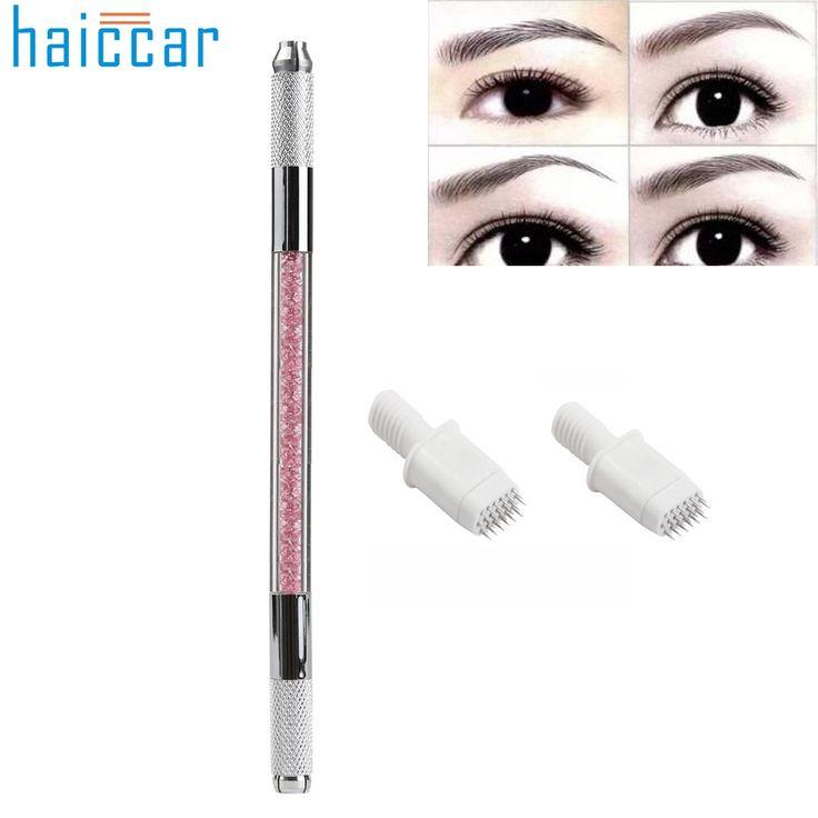 GRACEFUL Eyebrow Tattoo Pen+3D Fog Eyebrow Semi Permanent Tattoo Needles Embroidery Pin 7/19 maquiagem Tools DEC11 #Affiliate