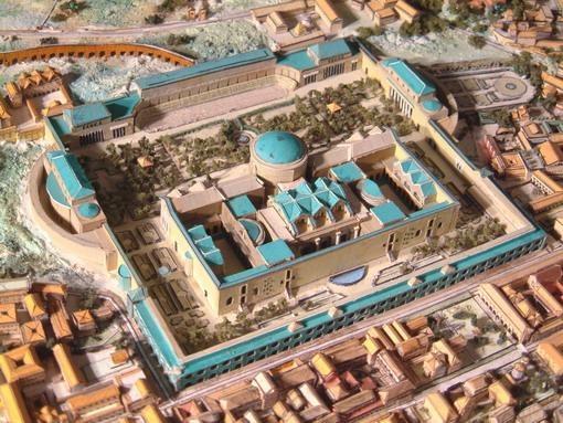 Reconstructie van de thermen van Caracalla