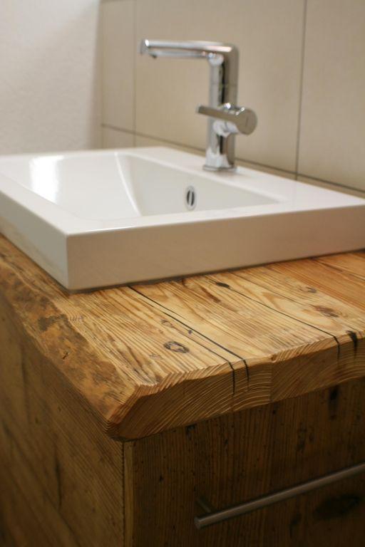 Altholz Bilder Ideen Waschtisch Holz Badezimmer Waschtisch