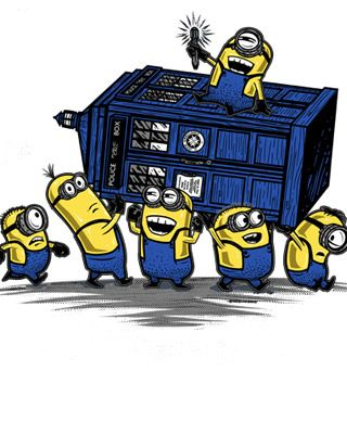 Minions Steal Doctor Who's TARDIS
