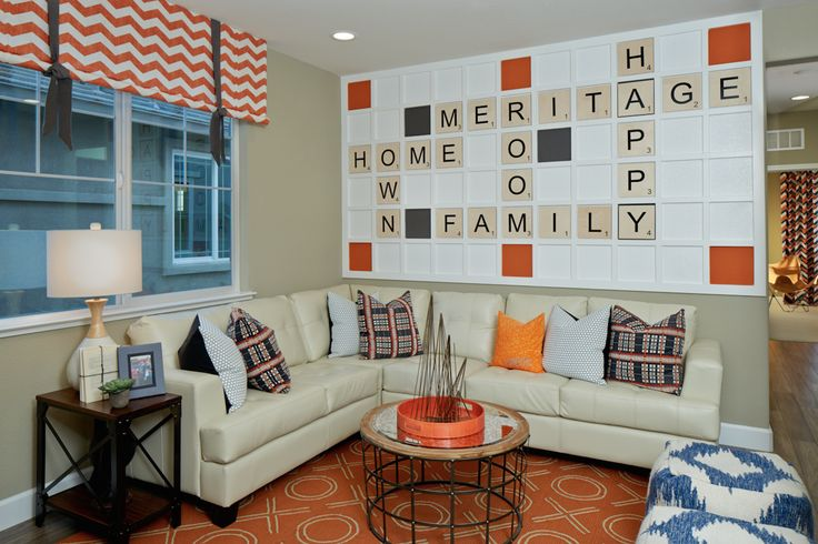 How fun is this game room at Sierra Commons? #MeritageHomes #DreamHomes
