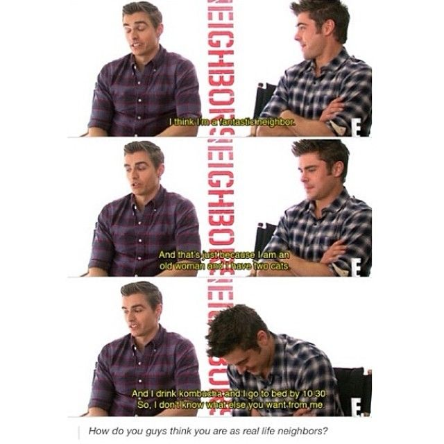 dave franco zac efron neighbors interview