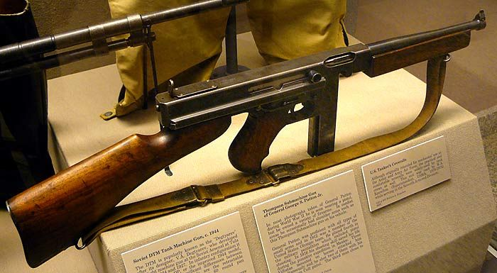 Image result for pattons sub machine guns